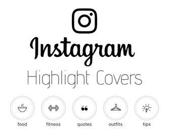 Instagram Highlight Cover — White
