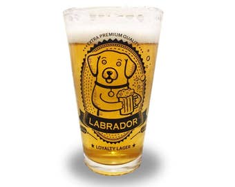 Labrador Retriever - Labrador Retriever Beer Pint Glass