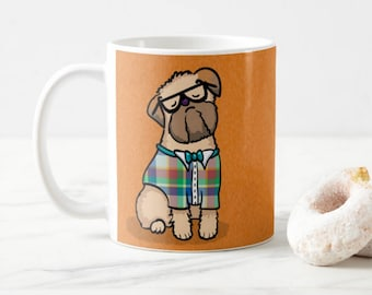 Brussels Griffon Mug - Pet Lover Gift - Choose Background Color - Choose Brussels Griffon Color