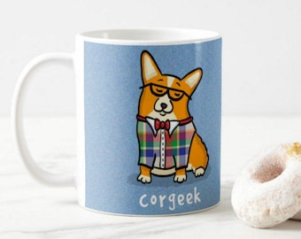 Corgi - Corgeek - Corgi Mug - Pembroke and Cardigan Corgi Choices