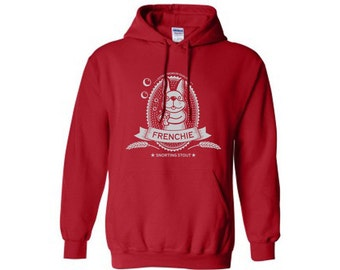 French Bulldog Beer Hoodie Sweatshirt