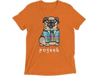 Pugeek Shirt - Pug Shirt