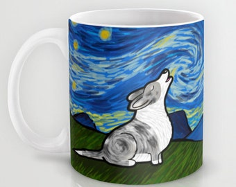 Cardigan Corgi Coffee Mug - Starry Baroo