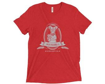 Jack Russell Beer Shirt - Jack Russell Terrier shirt - Unisex