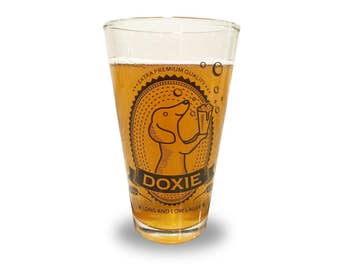 Dachshund Pint Glass