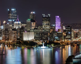 Pittsburgh from West End Overlook