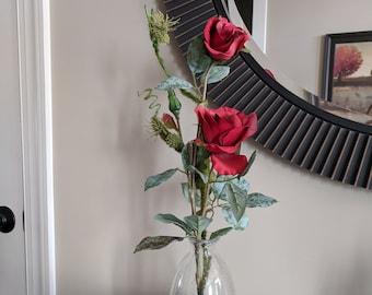Mother's Day Red Rose Vase Arrangement
