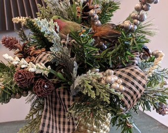 Christmas Natural Flower Arrangement