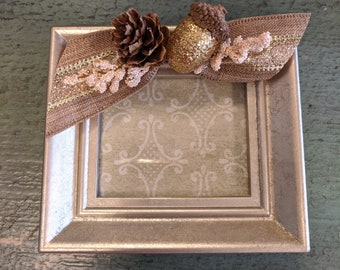 Mini Fall Embellished Picture Frame