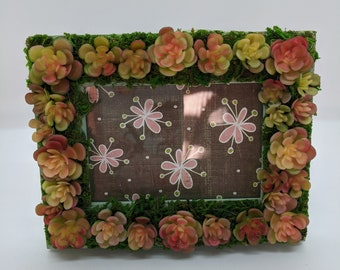 Mini Succulent Wooden Frame