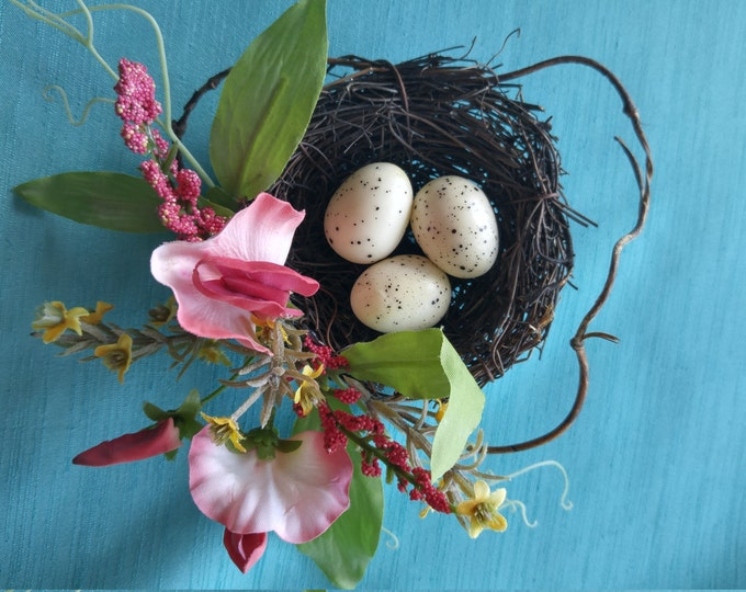 Featured listing image: Faux Sweet Pea Egg Nest