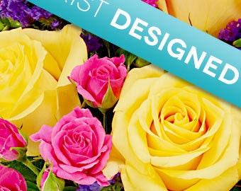 Custom Six Silk Flower Arrangements Made to Order