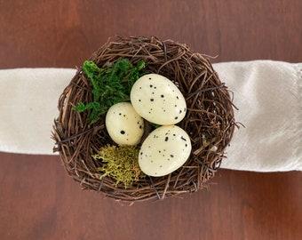 Bird Nest Napkin Ring