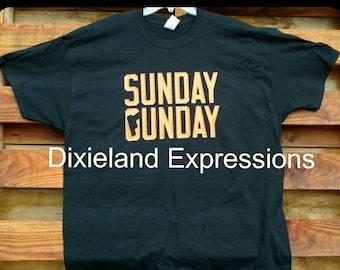 SundayGunday Tshirt, Men's Tshirt, Father's day gift, Boyfriend's Gift, Outdoor life, Range day Tshirt, Guy Gift's, Christmas Gift's