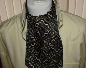 Sammy 1960's Green Patterned Cravat