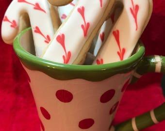 Candy Cane Cookies - 1 Dozen