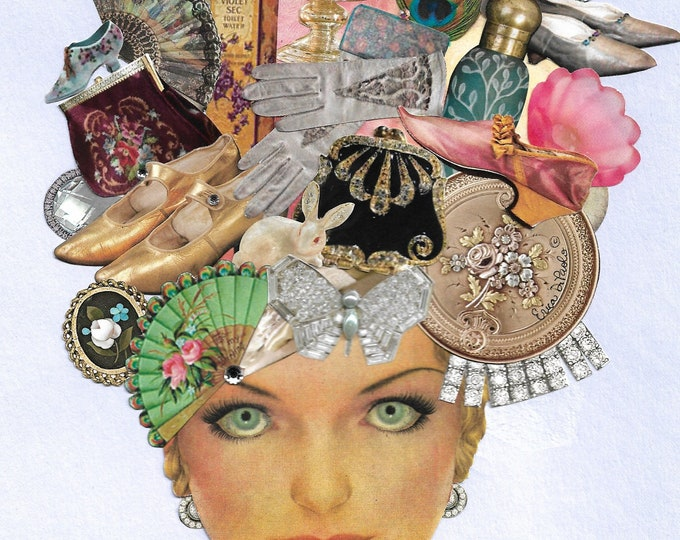 Fashion Card- Stylist, Fashion, Purple, Makeup, Silver, Gold, Lavender, Glamour, Shoes, Handbags, Vintage, Beauty, Cosmetics, Fashionista