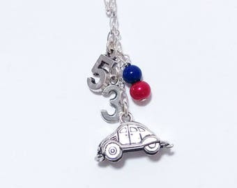 Herbie Love Bug Inspired Necklace - Disneybound Jewelry - Disney Gift Fan  Women 191e46e06a