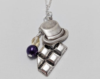 Willy Wonka Inspired Necklace