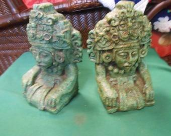 Myan Aztec BOOKENDS