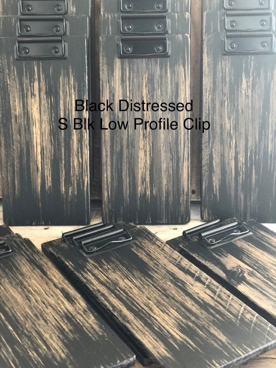 Check Presenter Distressed Painted 5 1/2