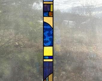 Stained Glass Sun and Sky Light Bar, Light Strip, Window Hanging, Sun Catcher, Home Decoration
