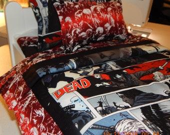 Walking Dead Bedding Etsy