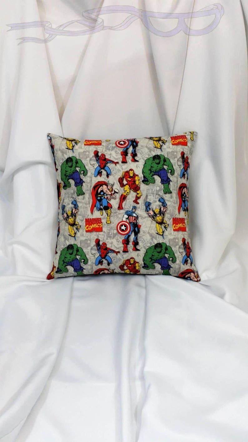 Wunder Avengers Stoff In Einem Baumwollbezug Kissen Für Sie Etsy