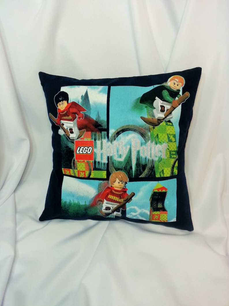Lego Harry Potter T Shirt Made Into A Decorative Pillow Cover Etsy