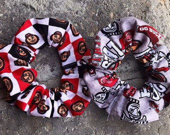 new style 0abff 92ade Ohio State scrunchies, Ohio State Buckeyes Scrunchies, Ohio State hair tie, Ohio  State Accessories, Ohio state gift