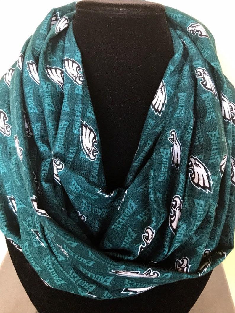 classic fit 79bce d87dd Philidelphia Eagles infinity scarf, Eagles scarf, Philadelphia Eagles  accessory, Philadelphia Eagles gift