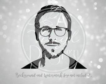 Ryan Gosling Vinyl Decal