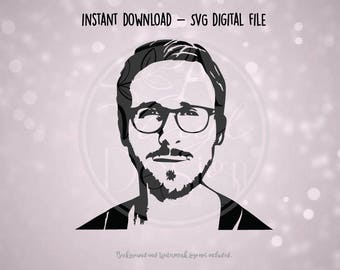 SVG Digital File - Ryan Gosling