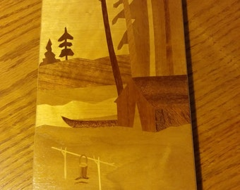 Wood Inlay Picture