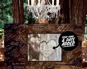 WOOD Guest Book Guest Signing Board Wood Sign Party Decor Guest Book Wedding Rustic Wedding Decor Anniversary Party Decor Wedding Sign