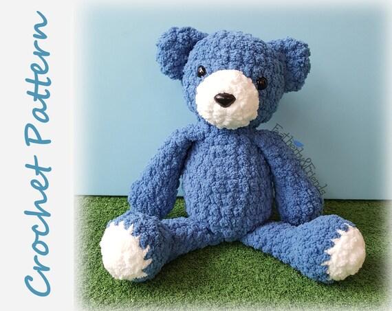 Cuddle Me Bear amigurumi pattern - Amigurumi Today | 453x570