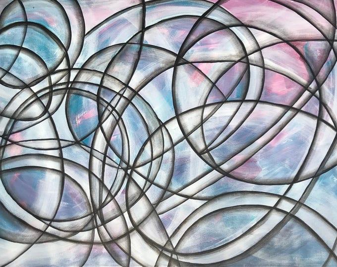 Abstract  CZ17020 - Original Abstract Art
