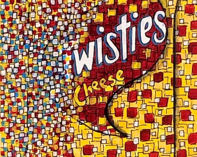 Cheese Twisties - CZ20040 20.3cm x 25.4cm