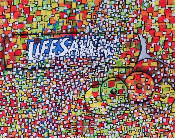 Life Savers - CZ20042 20.3cm x 25.4cm