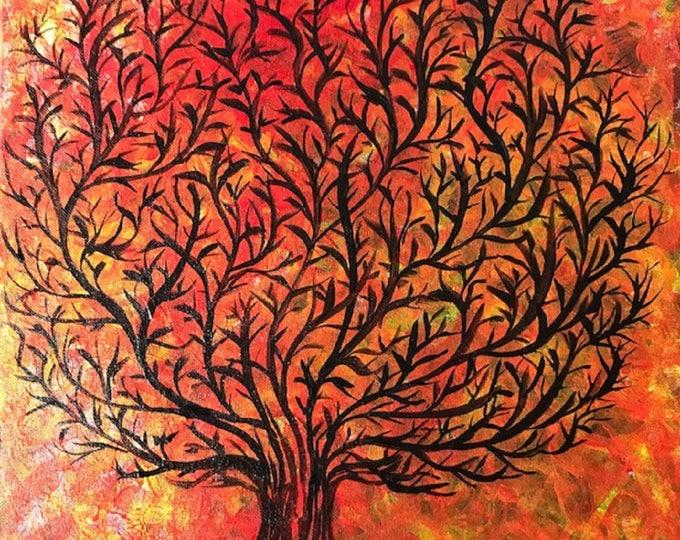 Abstract Tree CZ17014 - Original abstract art