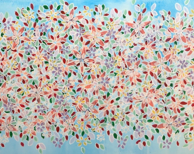 Nothing but flowers CZ19051 - 152cm x 76cm