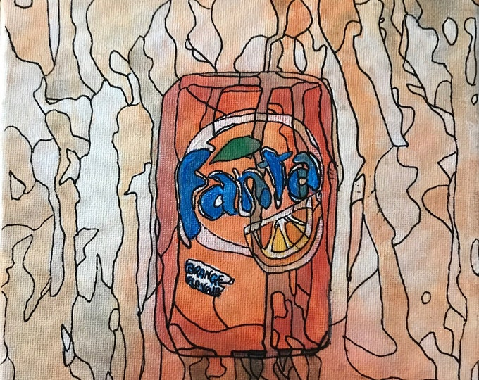 Fanta CZ18044 - 20cm x 20cm - Original Abstract Art
