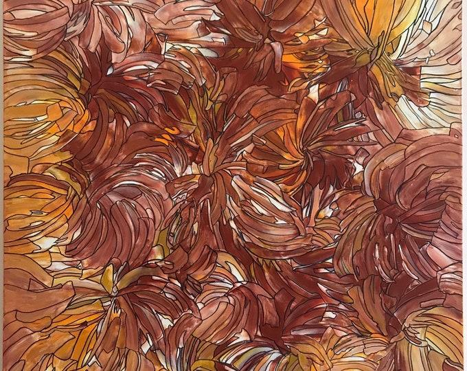 Abstract CZ18016 -  91cm x 91cm - Original Abstract Art