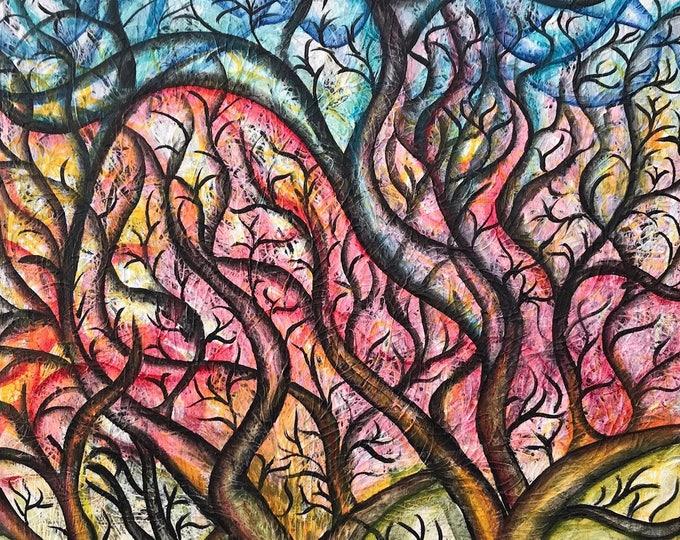 Tree CZ18002 - 61cm x 91cm
