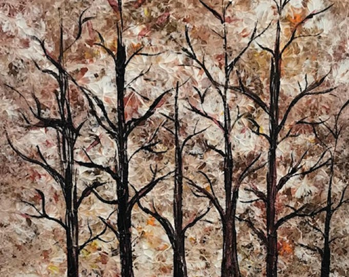 Abstract Tree CZ17012 -  Original Abstract Art