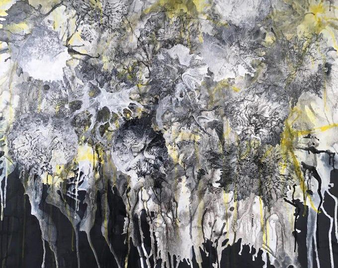 Abstract CZ17006 - 91cm x 91cm