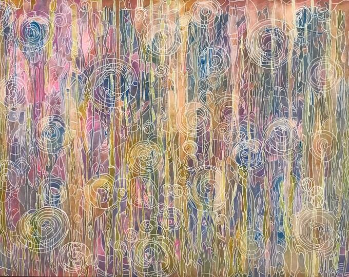 Abstract CZ18042 - Original Abstract Art