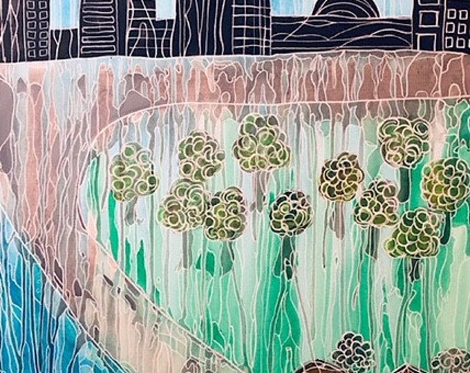 Abstract City, Sea and Country CZ19017 - 60cm x 75cm