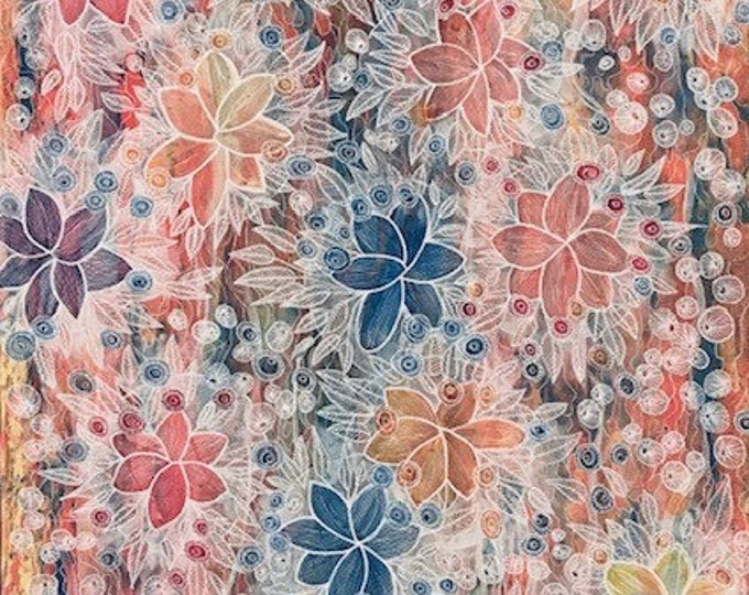 Abstract Flowers CZ19022 - 61cm x 91cm