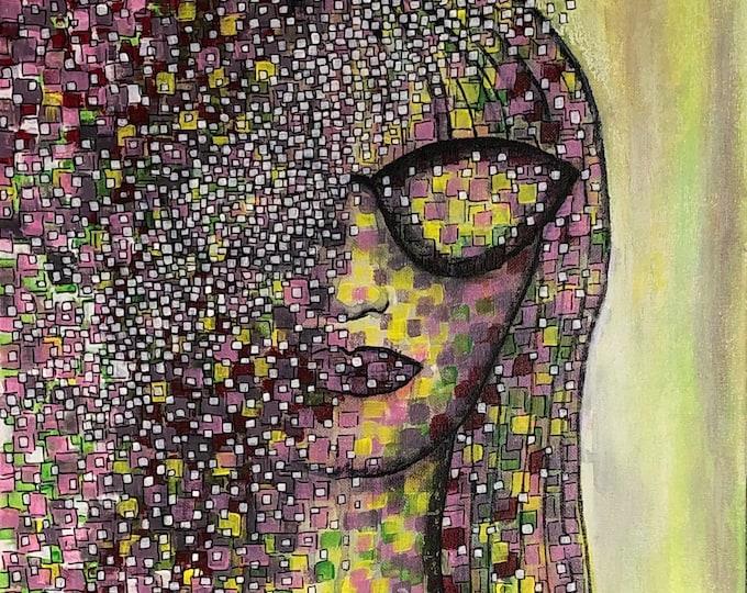 Pretty Woman - CZ20038 40cm x40cm
